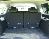 Additional photo of trunk space in Chevrolet Suburban executive SUV from Echo Limousine in Chicago, IL