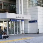 O'Hare Airport entrance