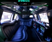 inside Stretch SUV Rentals