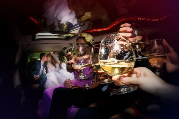 Should I Rent a Party Bus or Limo for My Wedding? - Echo Limousine