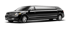 A stretch limousine one of the many options from a car service limousine company.