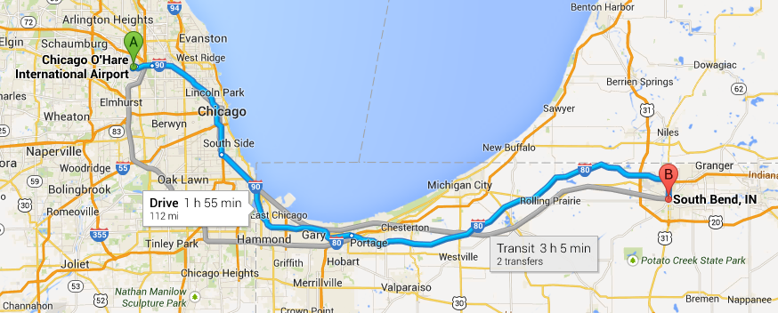 ohare-airport-south-bend-limo-service
