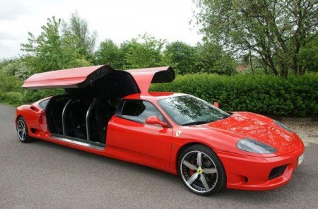 The Ferrari Long Limo