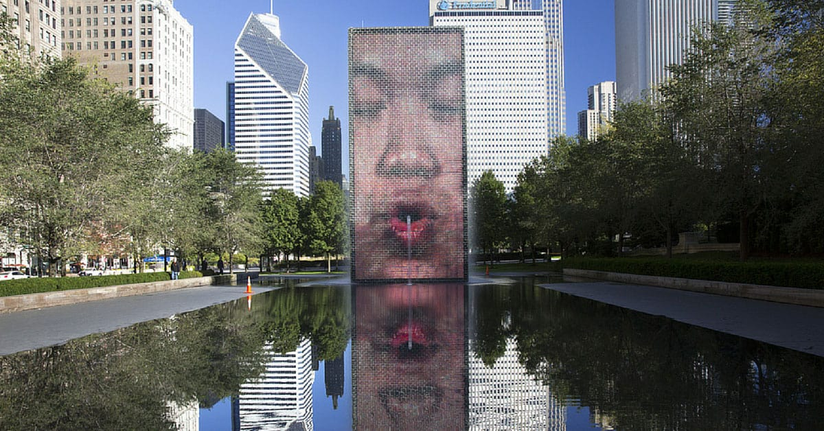 Crown-Fountain-Millenium-Park-Chicago