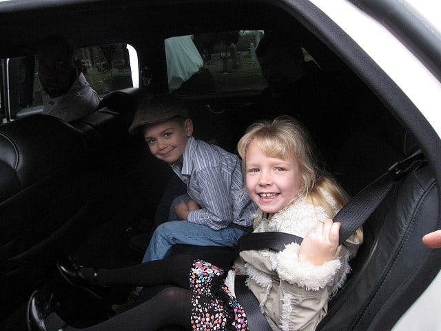 Sometimes a car seat in needed when using a car service limousine