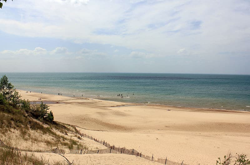 indiana dunes national lakeshore lake michigan lakeshore